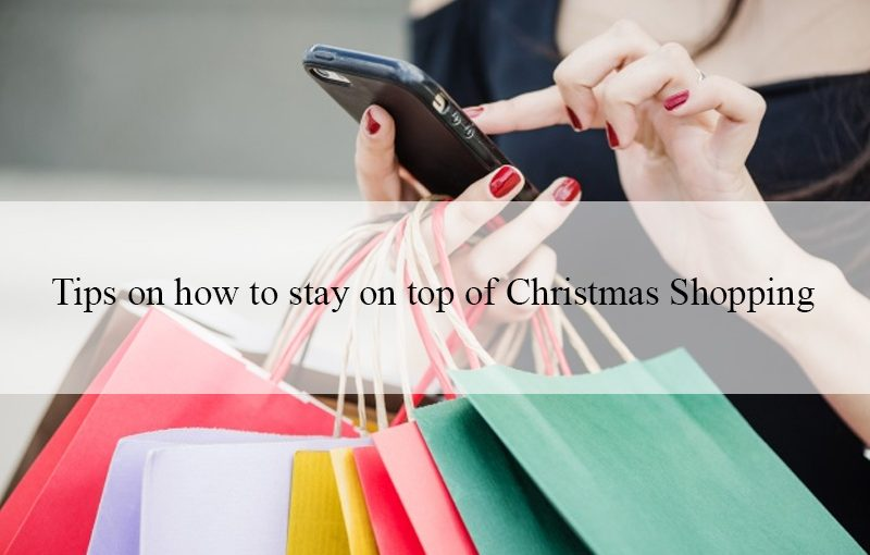 Houseproud's Tips on how to stay on top of Christmas Shopping