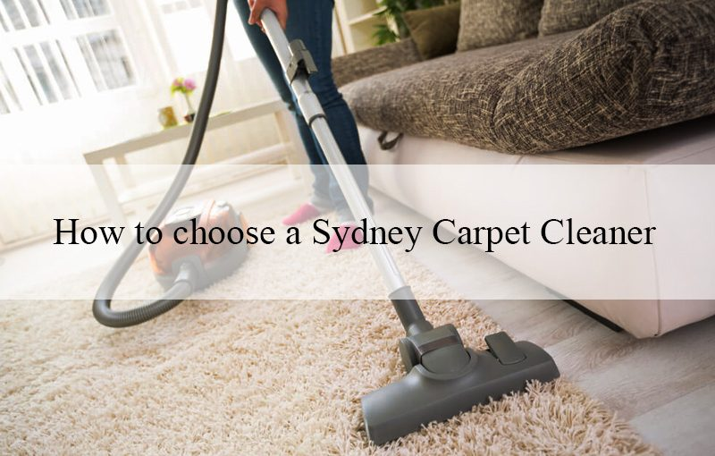 Houseproud's top tips on how to choose a Sydney Carpet Cleaner