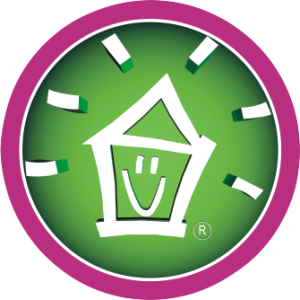 Houseproud Smiling House Logo
